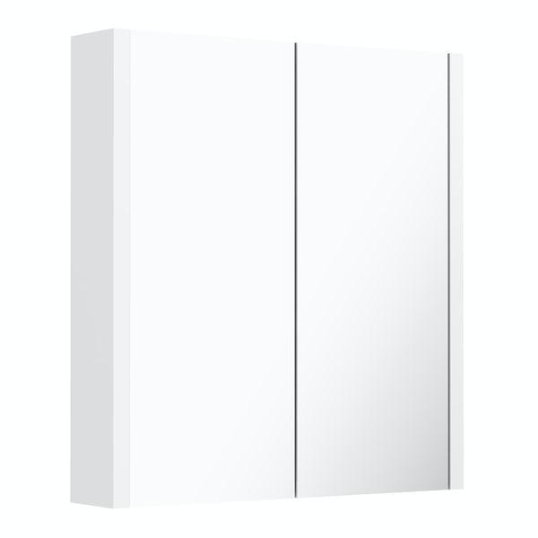 Derwent 2 Door mirror cabinet