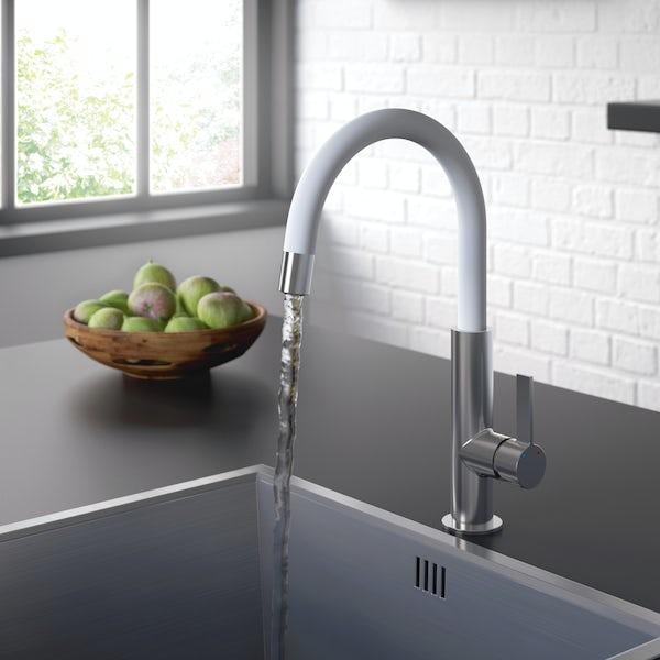 Bristan Melba white kitchen tap