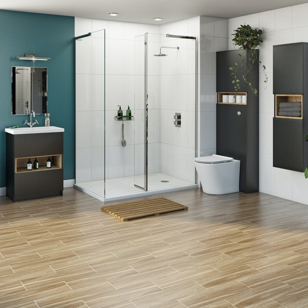 Mode Tate complete furniture shower enclosure suite 1400 x 900