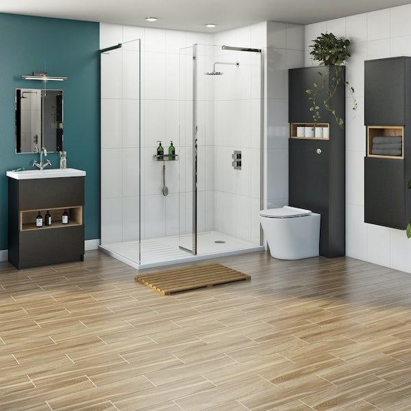 Mode Tate complete furniture shower enclosure suite 1400 x 900