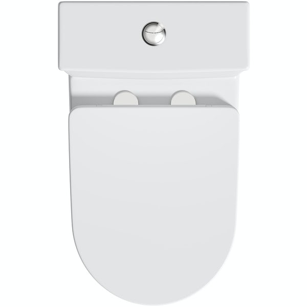 Orchard Adur close coupled toilet and soft close seat