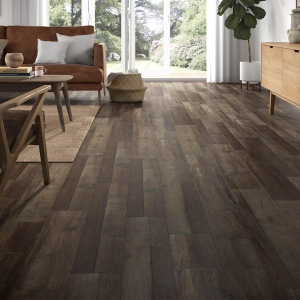 Malmo Senses Rigid click plank embossed 5G Stein flooring 5.5mm
