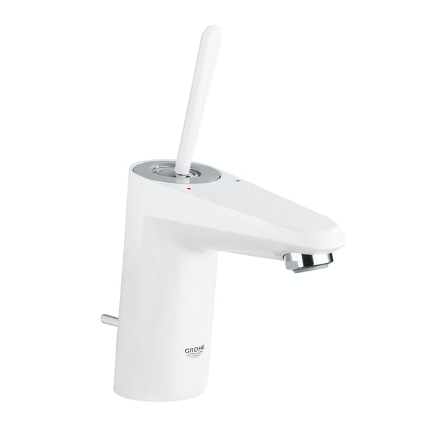 Grohe Eurodisc Joy basin mixer tap white