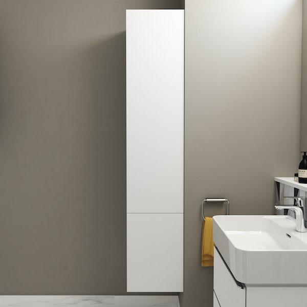 Ideal Standard Strada II white tall storage unit left hand