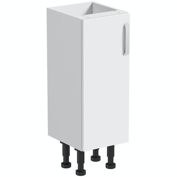 Mode Nouvel gloss white floor cabinet 300mm