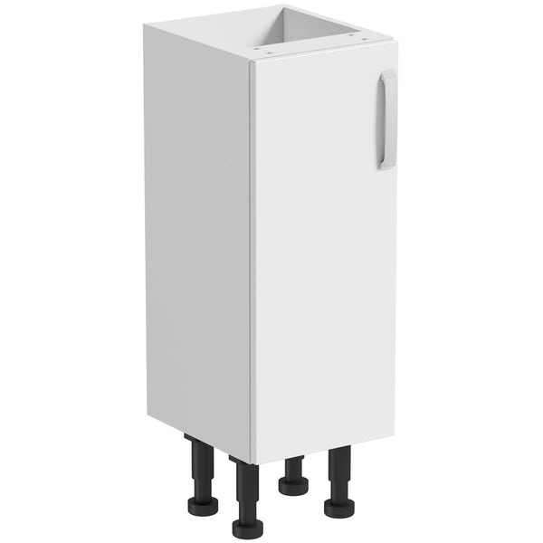 Mode Nouvel gloss white floor cabinet 300mm