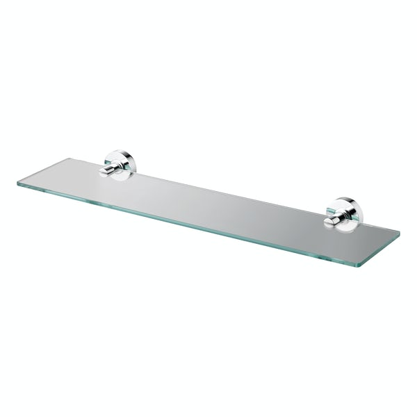 Ideal Standard Clear glass shelf 520mm