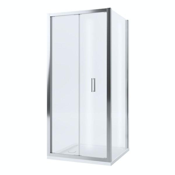 Mira Leap square bifold shower enclosure