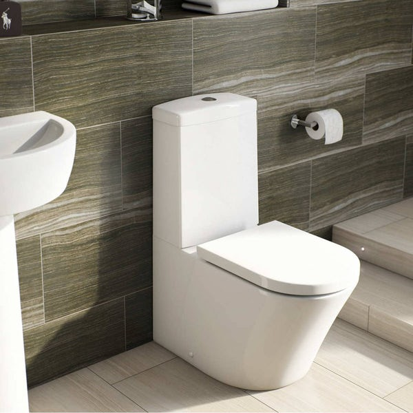 Mode Tate bathroom suite with Islington double ended bath