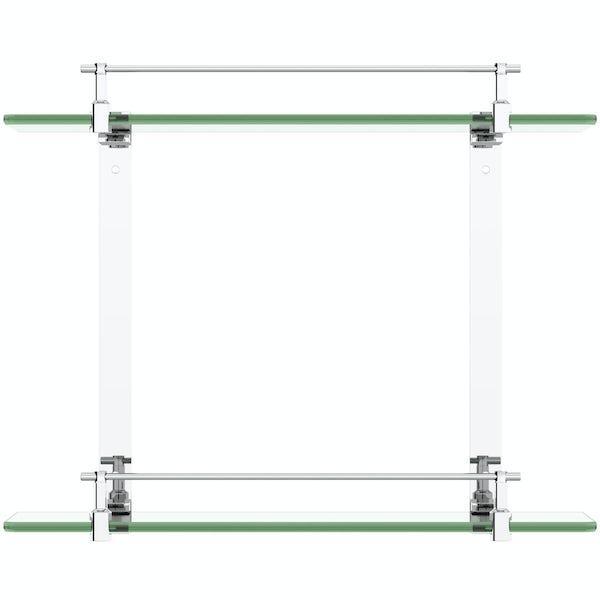 Orchard Options double glass shelf