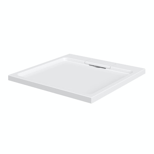 Designer Square Stone Shower Tray 800 x 800