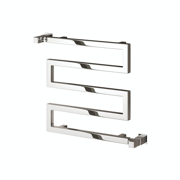 Reina Serpe chrome steel designer radiator