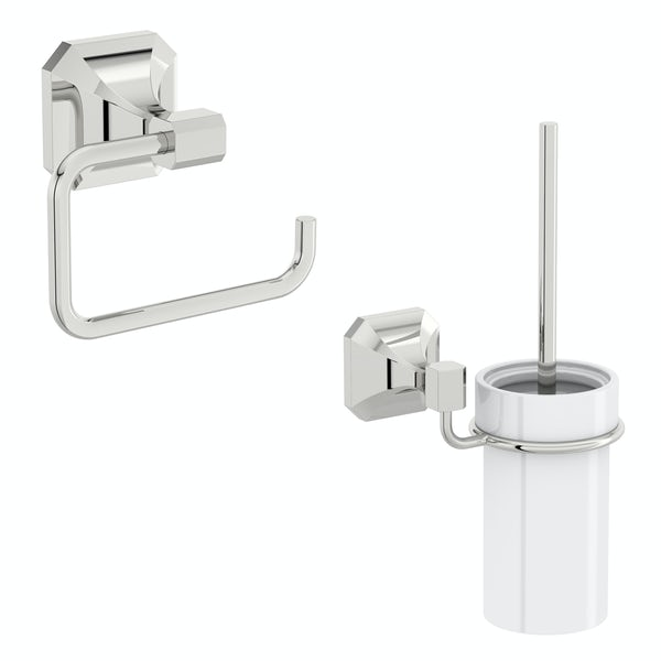 The Bath Co. Camberley 2 piece toilet accessory pack