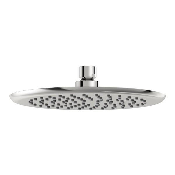 Mode Airmix water saving round shower head 200mm