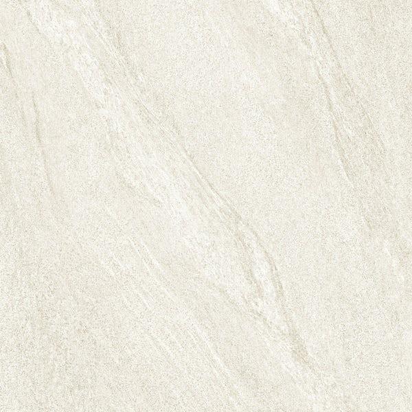 Alicura ivory stone effect matt wall and floor tile 600mm x 600mm