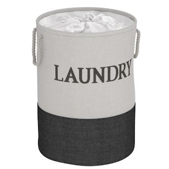 Showerdrape Laya laundry hamper black