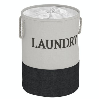 Showerdrape Laya laundry hamper black