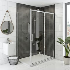 Main image for Mode Rand premium 8mm easy clean shower enclosure 1000 x 700 offer pack