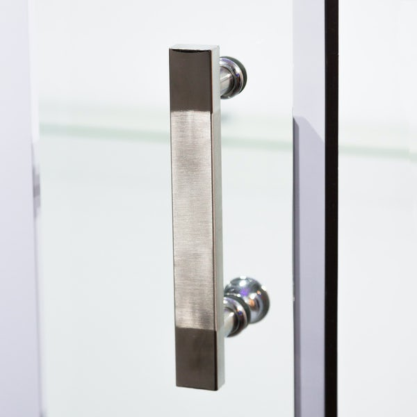 Insignia rectangular steam shower bath cabin 1650 x 850