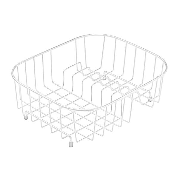 Rangemaster White draining basket
