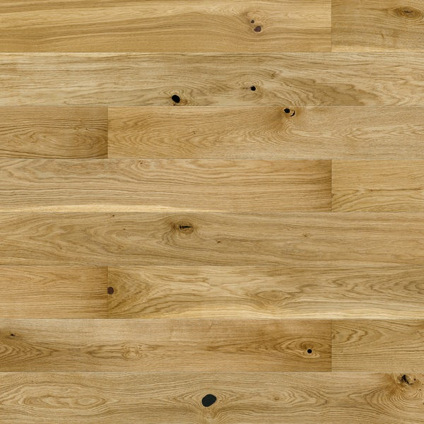 Basix Oak engineered matt UV lacquered click wood flooring
