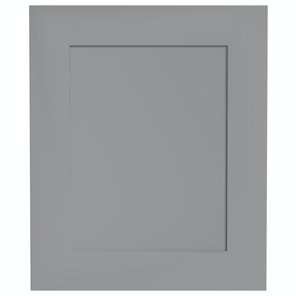 Schön New England light grey 600mm integrated dishwasher or fridge fascia