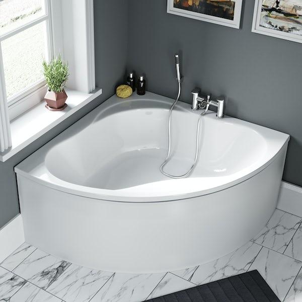 Orchard Elsdon offset corner bath panel