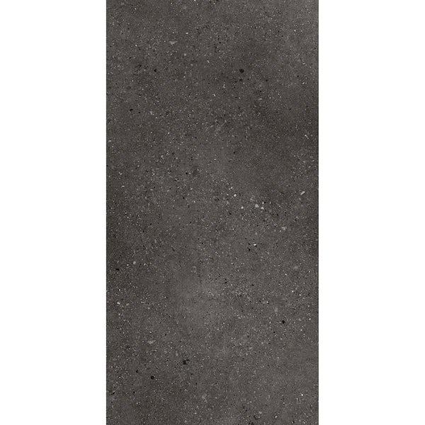 Mackenzie concrete anthracite SPC flooring 6mm