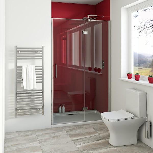 Zenolite plus fire acrylic shower wall panel 2440 x 1220