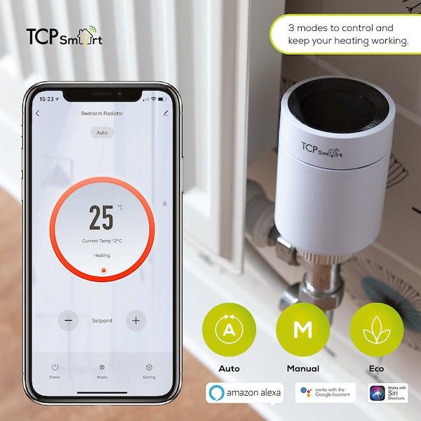 TCP Smart WiFi radiator valves
