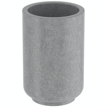 Accents Mineral Stone grey resin tumbler