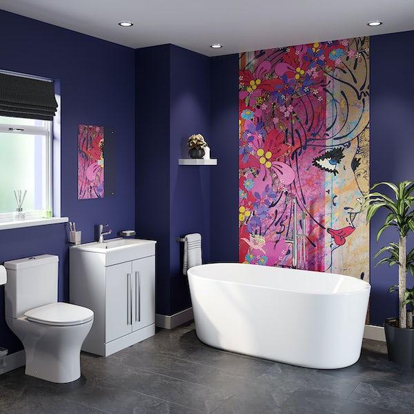 Louise Dear Oooh Yeah! freestanding bath suite 1500 x 700mm