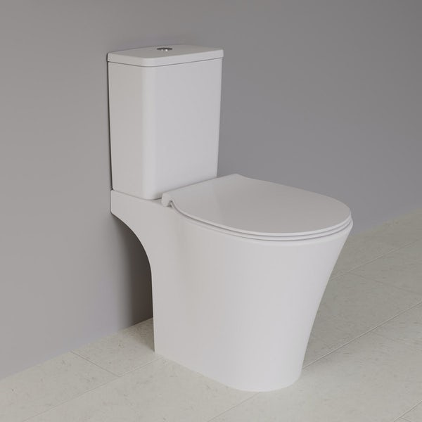 Ideal Standard Concept Air complete wood light grey furniture and right hand shower bath suite 1700 x 800