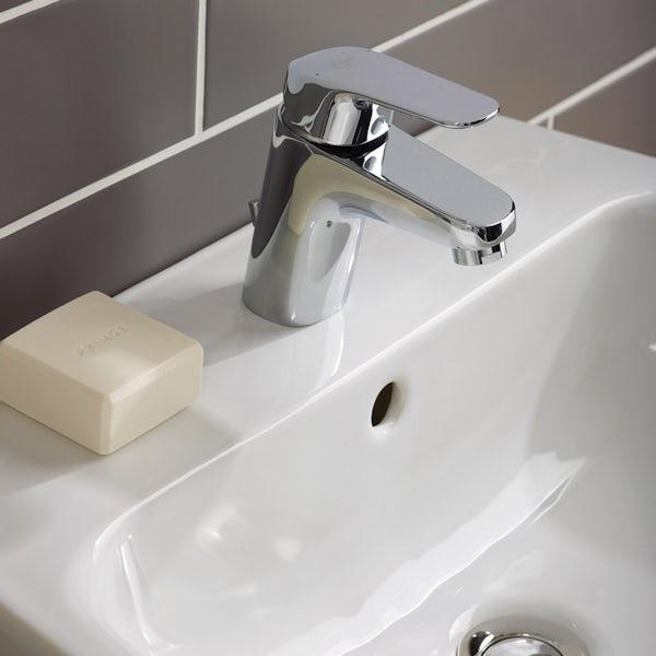 Ideal Standard Ceraflex basin mixer tap and pop-up waste