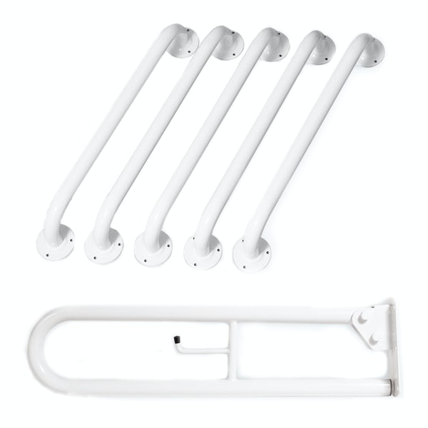 Nymas NymaPRO Doc M rail only toilet pack in white