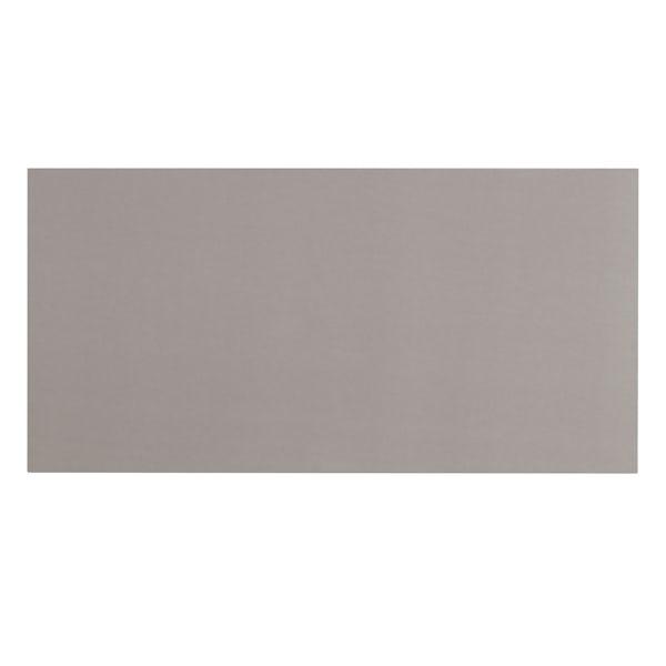 Cordova mid grey flat gloss wall and floor tile 300mm x 600mm