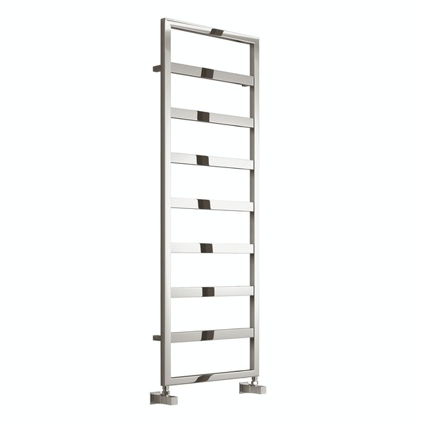 Reina Rezzo chrome steel designer radiator