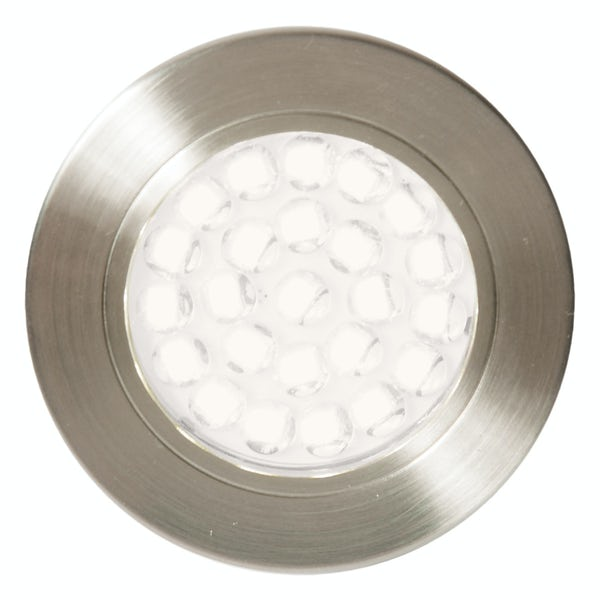 Forum Luz 1.5w warm white LED satin nickel under cabinet light