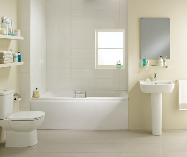 Ideal Standard Tempo complete double ended bath suite 1700 x 750