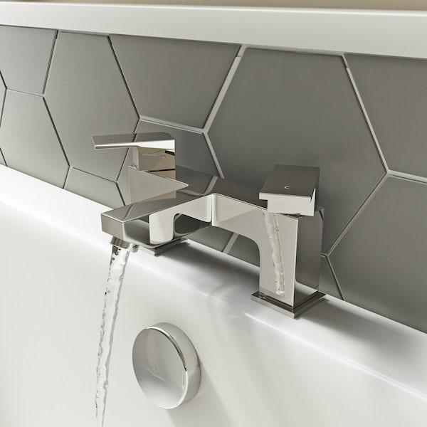 Kirke WRAS Cubic bath mixer tap