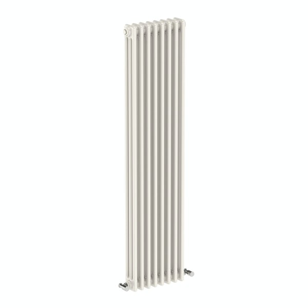 The Bath Co. Dulwich vertical white triple column radiator
