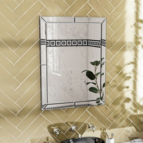The Bath Co. Beaumont rectangular wall mirror 800 x 600mm