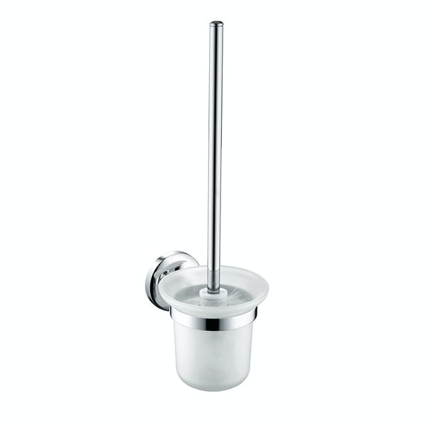 Bristan Solo round toilet brush and holder