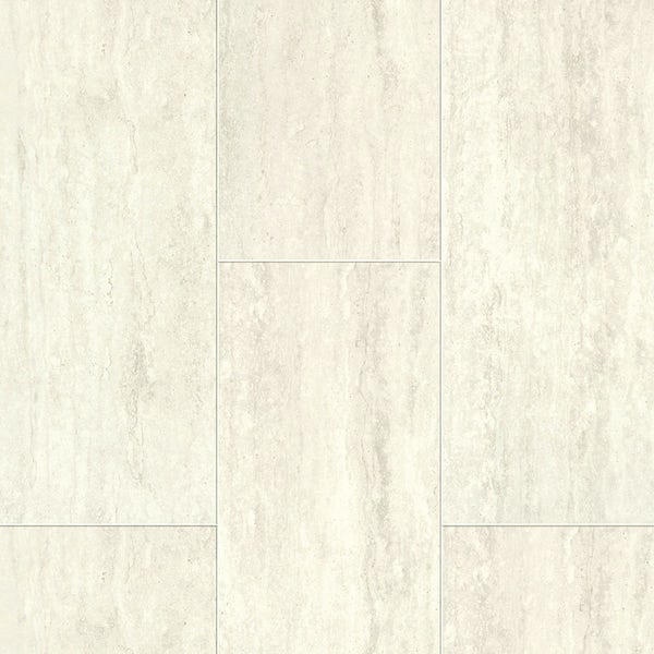Aqua Step Mini Travertine white waterproof laminate flooring 390mm x 167mm x 8mm