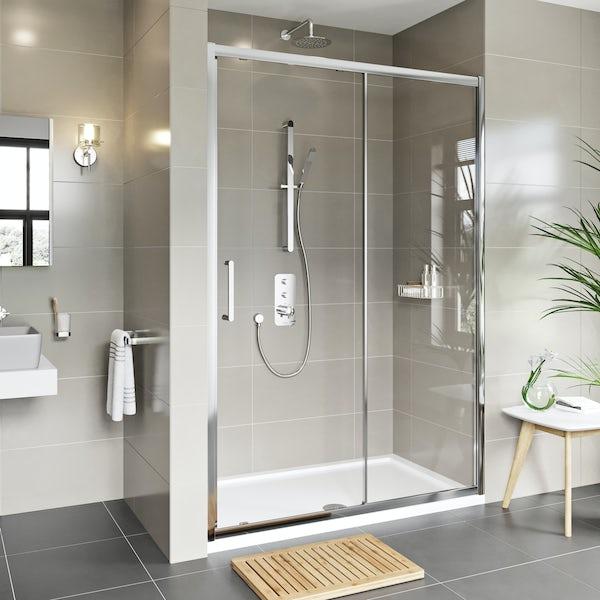 Mode Adler 8mm framed sliding shower door