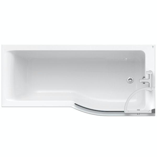 Ideal Standard Concept Air Idealform right hand shower bath 1700 x 800