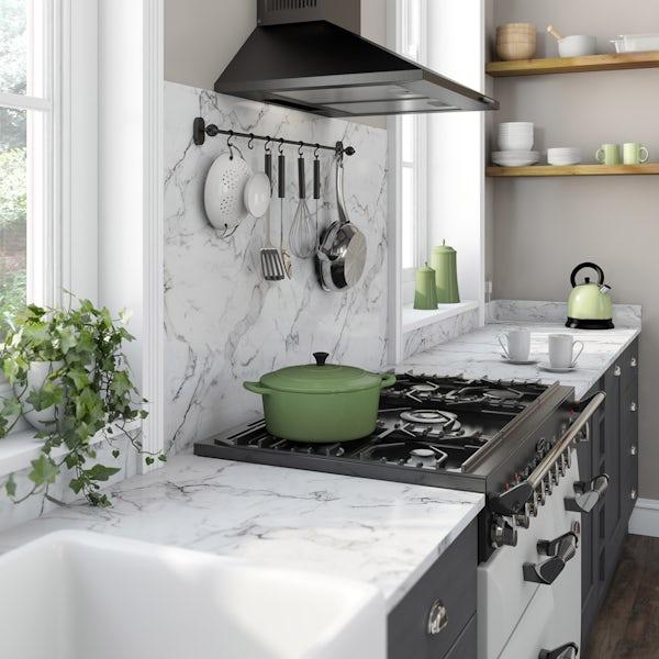 Formica Aria 20mm calacatta marble satin worktop
