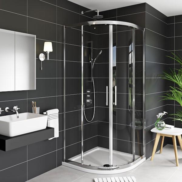 Mode Adler 8mm framed quadrant shower enclosure