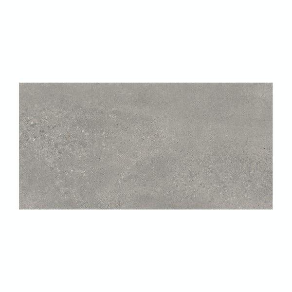 Edmonton grey matt glazed porcelain wall tiles 300x600mm