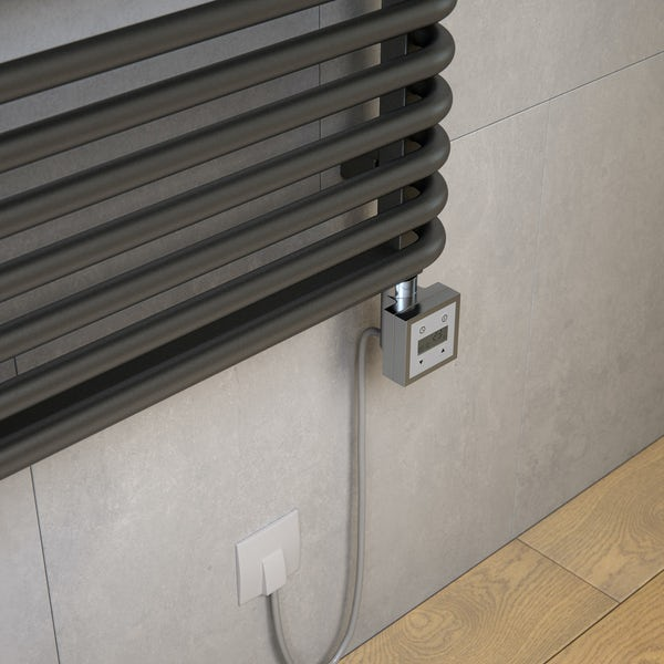 Terma KTX 3 chrome heating element controller